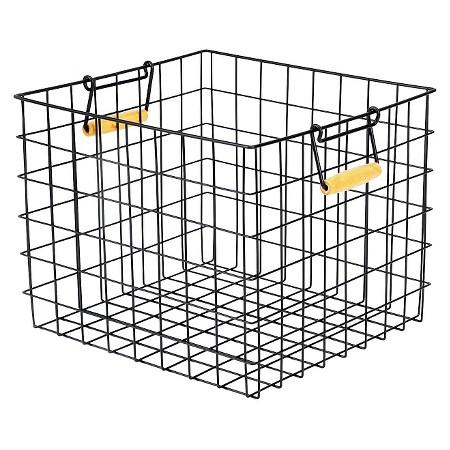 Target Wire Milk Crate Bin