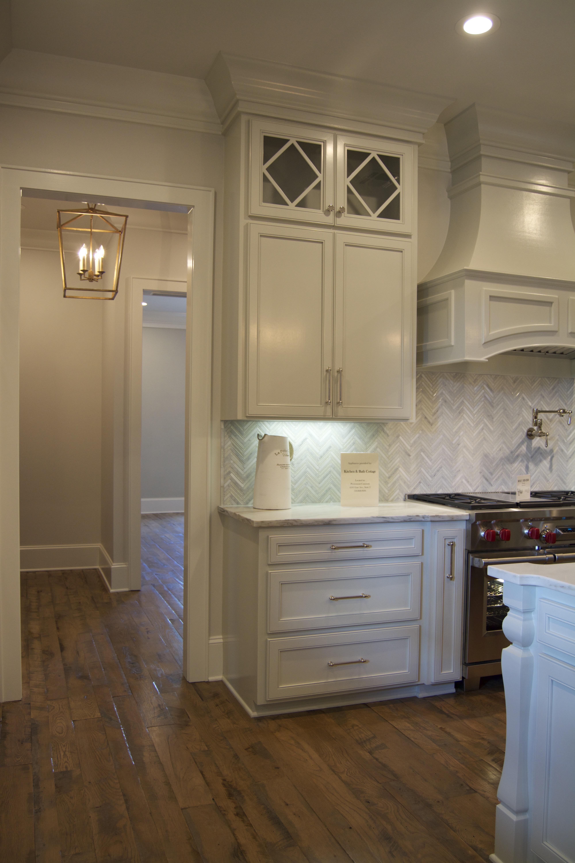 Kitchen and bath cottage range hood moldings