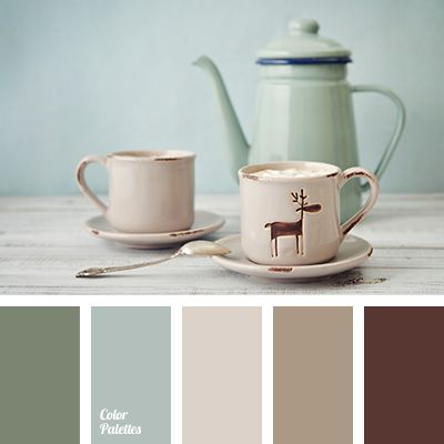 Dusty Green and Beige colorpalettesnet