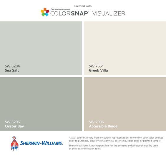 SW Beige Color Palette