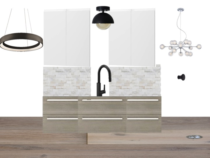 Dana Point kitchen concept fish and arrow interiors