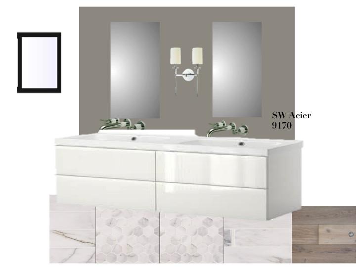 Dana Point master bathroom concept fish and arrow interiors