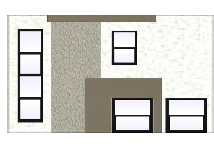 Dana Point Exterior stucco concept fish and arrow interiors