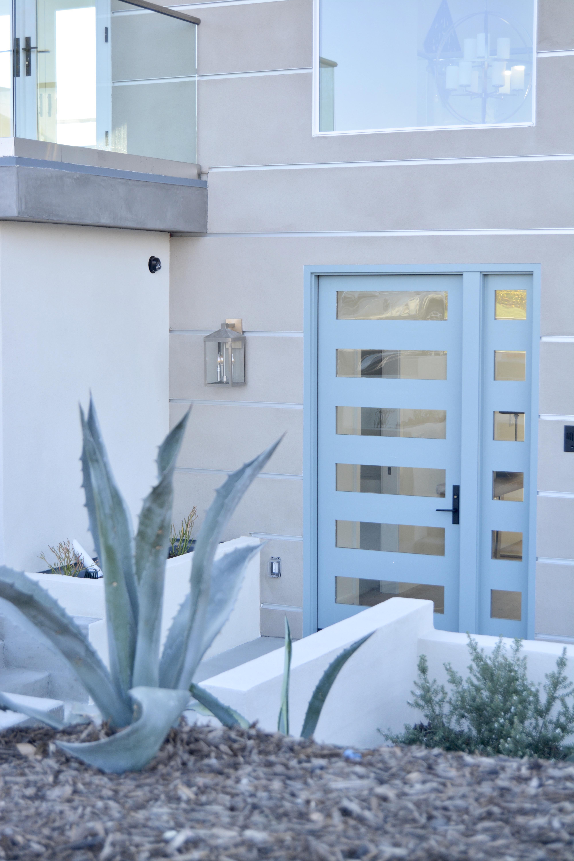 Blue Front Door Sherwin Williams Delft